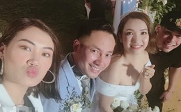 Đây là những khách mời showbiz hiếm hoi trong đám cưới của rapper Tiến Đạt tại Sài Gòn
