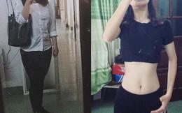 Giảm 30kg trong vòng 6 tháng, nữ sinh lột xác với vòng eo đáng ngưỡng mộ