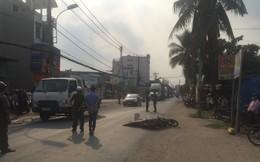 Dân truy đuổi, chặn xe container cán chết thanh niên 9X ở Sài Gòn
