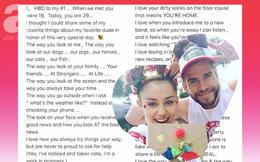 """Toàn bộ nội dung bức thư tình """"triệu like"""" của Miley Cyrus gửi cho Liam khiến ai cũng xúc động"""