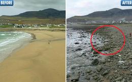Bãi biển cát vàng dài 300m ở Ireland bỗng nhiên biến mất: Nguyên nhân đằng sau là gì?