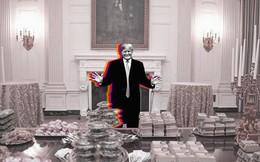 """Ẩn ý nguy hiểm về chính phủ Mỹ của TT Trump sau bức ảnh """"gây bão mạng"""" ở Nhà Trắng"""