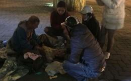 """Thông tin bất ngờ về """"ông ngoại 72 tuổi ôm cháu bé 3 tuổi đi lang thang giữa trời lạnh ở Hà Nội"""""""