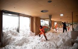 Ảnh: Mùa đông khắc nghiệt với tuyết rơi dày ở nhiều nơi trên thế giới