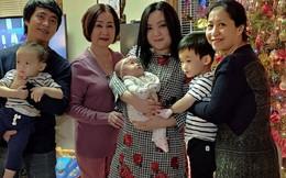 Hình ảnh hiếm hoi của Xuân Mai bên chồng và 3 con tại Mỹ