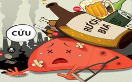 Bia rượu - uống càng nhiều, tuổi thọ càng ngắn