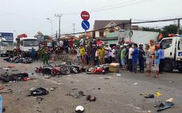 Phó Thủ tướng yêu cầu làm rõ nguyên nhân vụ xe container gây tai nạn thảm khốc ở Long An