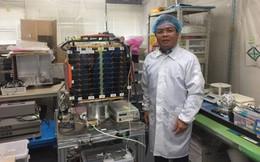 Vệ tinh Micro Dragon của Việt Nam truyền tín hiệu về mặt đất