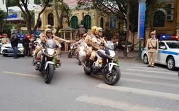 CSGT Hà Nội huy động 100% quân số ứng trực đảm bảo an ninh trận tứ kết Asian Cup