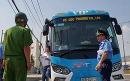Những ngày giáp Tết nhiều xe khách biến tướng bị xử phạt