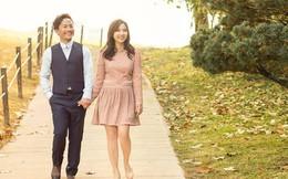 Trọn bộ ảnh cưới ngập tràn sắc vàng của vợ chồng rapper Tiến Đạt - Thụy Vy chụp ở Hàn Quốc