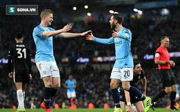 """Man City """"hủy diệt"""" đối thủ bằng cơn mưa bàn thắng ở Etihad"""