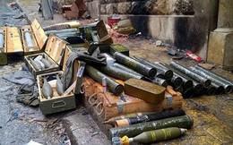 Syria: Điều bất ngờ trong kho vũ khí của khủng bố mới được phát hiện gần Damascus