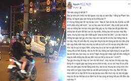 Chồng say lái ô tô gặp nạn, vợ chỉ trích bạn nhậu: 'Nếu Tết này chồng tao ngồi tù thì gia đình tao sẽ thế nào?'
