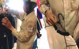 Người đàn ông với bộ đồ lấm bẩn đi mua quà Tết cho vợ và con gái khiến dân mạng nghẹn ngào