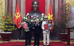 Quá trình công tác của Đại tướng Tô Lâm và Đại tướng Lương Cường