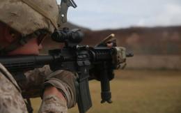 """Thủy quân lục chiến Mỹ sắp được trang bị đạn 5.56mm """"xuyên vật cản"""""""