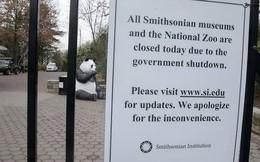 Chính phủ Mỹ đóng cửa, toilet công cộng cũng đóng