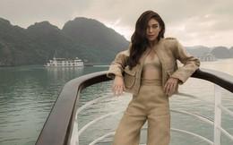 Á hậu Hoàn vũ Việt Nam 2017 diện đồ mỏng, sexy trên du thuyền 5 sao
