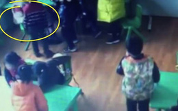 Clip: Giáo viên mẫu giáo 15 tuổi đánh đập, bắt học sinh ăn đồ thừa