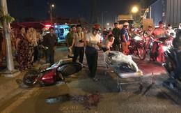 Người dân đuổi bắt lái xe container cán chết người