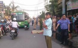 Thắng gấp ngã ra đường, cô gái trẻ bị xe tải cán tử vong ở Sài Gòn