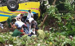 Vụ xe khách chở hàng chục sinh viên lao xuống đèo Hải Vân: 1 người đã tử vong