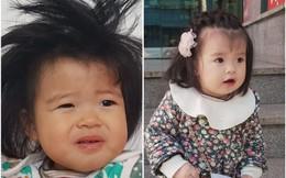 """Em bé lai Việt – Hàn gây """"sốt"""" sau bức ảnh khoe khoảnh khắc lúc ở nhà và đi chơi khác """"một trời một vực"""""""