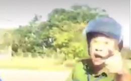 Xôn xao clip công an lăng mạ, chửi thề tài xế xe đầu kéo ở Bình Phước