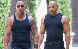"""Từng """"không đội trời chung"""", quan hệ giữa Dwayne Johnson và Vin Diesel giờ ra sao?"""