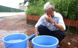 """Nước sạch ở nhiều khu vực tại Hà Nội xuất hiện """"mùi rất hắc, sộc lên gây khó chịu"""""""