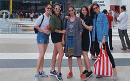 Tăng Thanh Hà đi du lịch với hội bạn thân nhưng nhan sắc lại trở thành chủ đề gây xôn xao