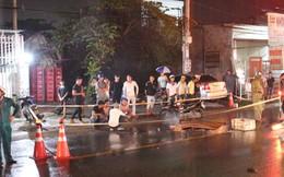Tàn cuộc nhậu, 3 người đàn ông đi trên xe máy rồi ngã ra đường, bị xe tải cán thương vong