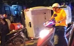 Nghi vấn giang hồ đi ô tô bán tải tông 2 thanh niên đi xe máy dừng đèn đỏ làm 1 người chết, 1 người bị thương