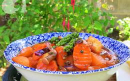 Ngày Rằm thử ngay món rau củ nấu tiêu xanh ngọt ngon hấp dẫn