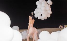 Người đẹp Sang Lê đón sinh nhật sang chảnh trên bờ biển ở Phú Yên