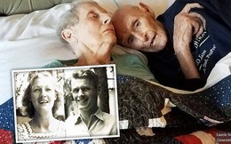 Chuyện tình keo sơn của cặp đôi bên nhau 70 năm, qua đời chung một ngày