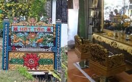 Tiệm cắt tóc trang trí đặc biệt, chạm trổ từ biển hiệu đến ghế ngồi khiến ai đến cũng phải run
