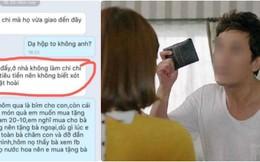 """Mua tặng mẹ món quà 20-10, người vợ bị chồng dằn mặt: """"Tôi không phải cây ATM"""""""