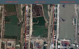 """""""Choáng ngợp"""" quy mô chế tạo tàu sân bay Trung Quốc"""