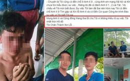 Thanh niên cầm đầu nhóm đánh ông bố bạo hành con trai đến xin lỗi, thú tội trên Facebook, công an vào cuộc