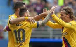 """Lần đầu tiên tam tấu MSG cùng """"nổ súng"""", Barcelona vượt mặt Real Madrid"""