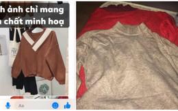 """Than thở mua áo len qua mạng nhận về """"đống giẻ"""", cô gái bị chỉ trích ngược vì một con số"""