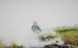 """""""Sát thủ"""" không khí lại xuất hiện, khói rơm rạ bắt đầu bủa vây Hà Nội"""
