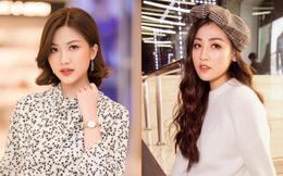 Á hậu Tú Anh và diễn viên Lương Thanh mặc giản dị vẫn xinh đẹp nổi bật