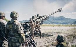 Lựu pháo mạnh nhất thế giới của Quân đội Mỹ khai hỏa dữ dội trên đất Philippines