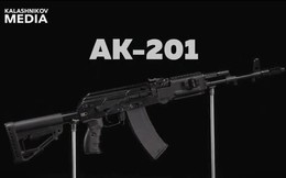 Cận cảnh chi tiết súng AK-201 của Nga dùng đạn NATO 5,56x45mm