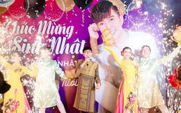 Tổ chức sinh nhật linh đình như đám cưới, Long Nhật khóc khi nhắc tới Vương Bảo Tuấn