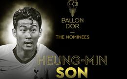 Lần đầu tiên trong sự nghiệp, Son Heung-min nhận vinh dự vô cùng lớn lao này