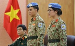 Hai sĩ quan Việt Nam làm quan sát viên quân sự tại Nam Sudan